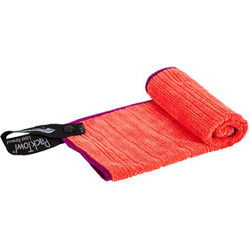 PackTowl Luxe Face Pyyhe , punainen